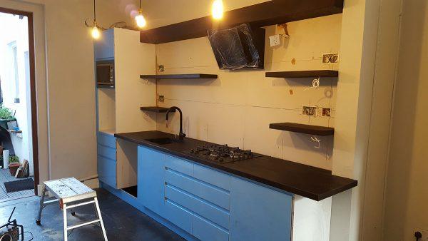 Brighton Kitchen Fitting – Project E
